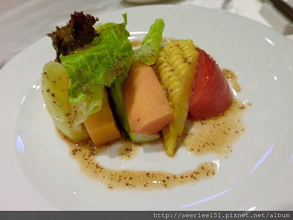圖6 吉品1580套餐菜式之四和風沙拉