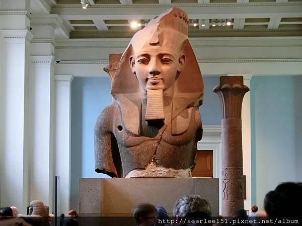 P1)倫敦大英博物館的埃及雕像.jpg