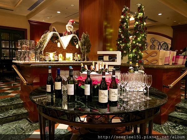 P1)西華Toscana的聖誕夜佈置.jpg