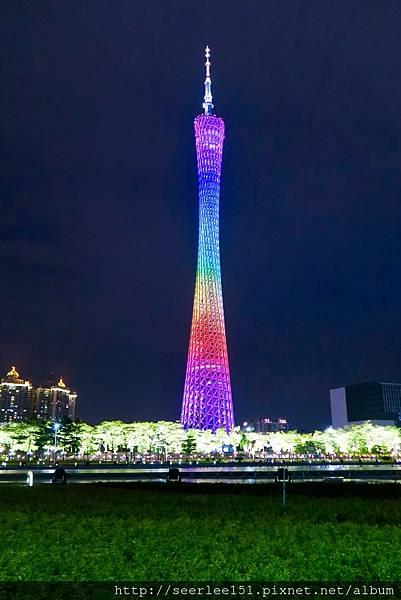 P14)美到令人屏息的廣州塔夜景.jpg