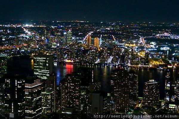 P19)從帝國大廈頂樓下眺舉世最繁華的夜景.jpg