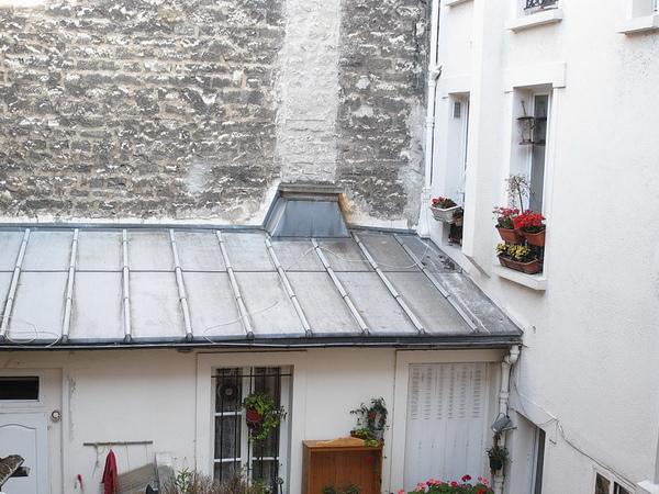 飯店單人房-從陽台看出去
