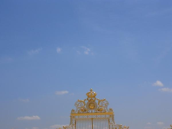 凡爾賽宮金色大門一角
