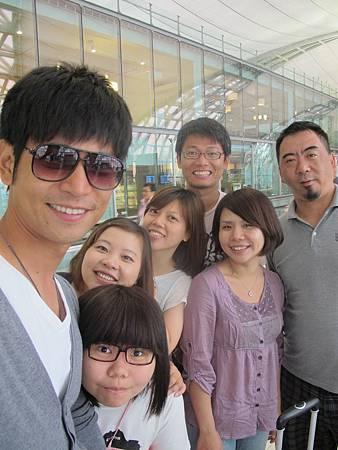 曼谷機場回台