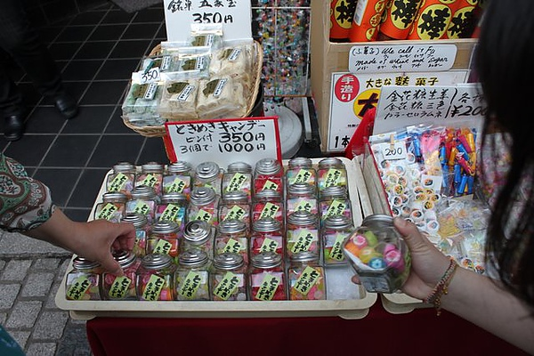 都是賣一些傳統的糖果
