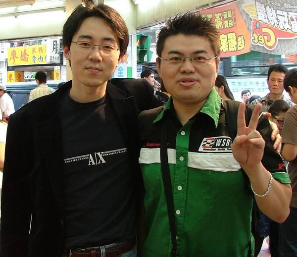 951119 我 和 姜銀成 先生(Andy Kang , 墨香 遊戲原創者)