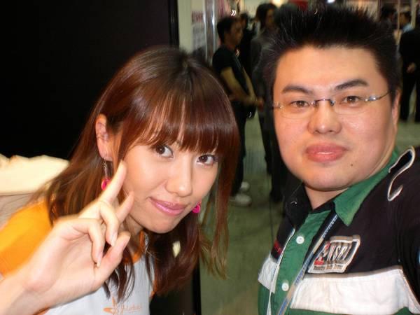 960511 我 和 桑原步美 小姐