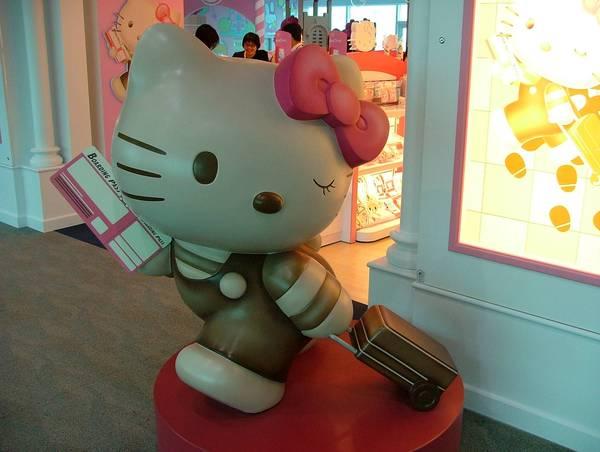 桃園國際機場 的 Hello kitty 候機室