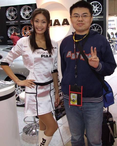 970111我 和 東鄉愛弓 小姐的合照