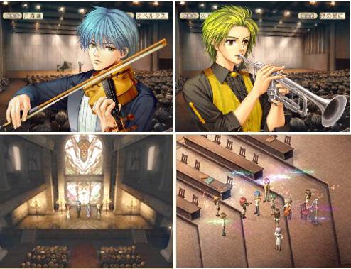 金色琴弦PS2畫面
