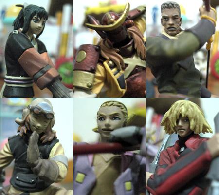 七武士盒玩:其他六武士