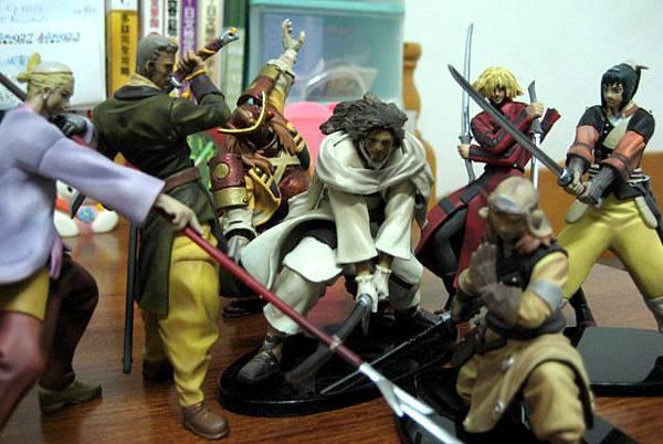 七武士盒玩:全七隻