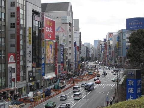 2008/3/02@上野公園→阿美橫町