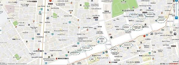 狎鷗亭地圖1