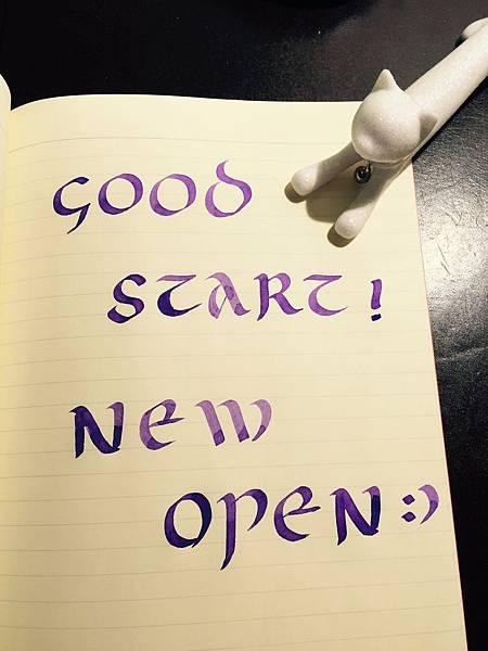 Good start new open