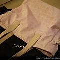 CHANEL 粉紅色大travel bag $27000