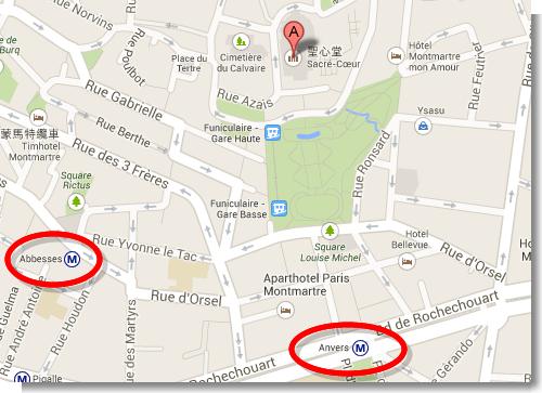 Basilique du Sacré-Cœur - Google 地圖
