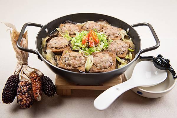 鑲肉豆腐煲