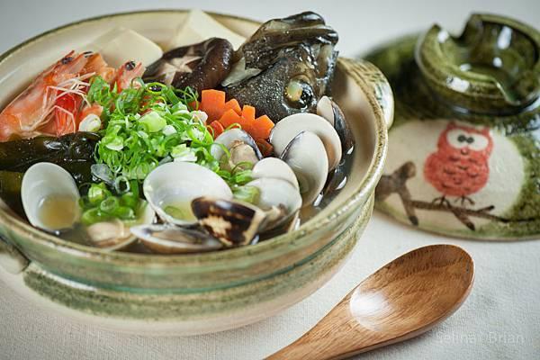石斑魚頭海鮮味增湯
