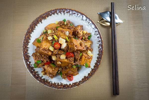 肉醬炒豆腐