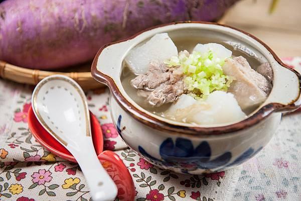 紫蘿蔔排骨湯