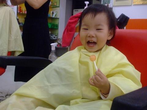 071115 剪頭髮
