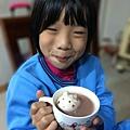 呆呆貓泡巧克力澡 ❤ 超療癒的小貓造型棉花糖, 小孩早餐的最愛
