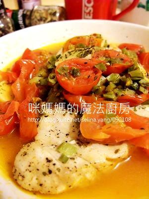 義式香料蒸旗魚