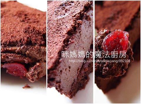 【試吃】阿默瑞士巧克力莓果蛋糕-2