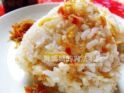 吻魚XO醬三角飯糰-橫