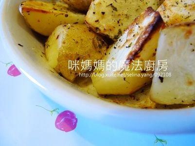 義大利香料烤馬鈴薯-橫
