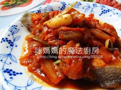 泡菜蒸鱈魚-橫