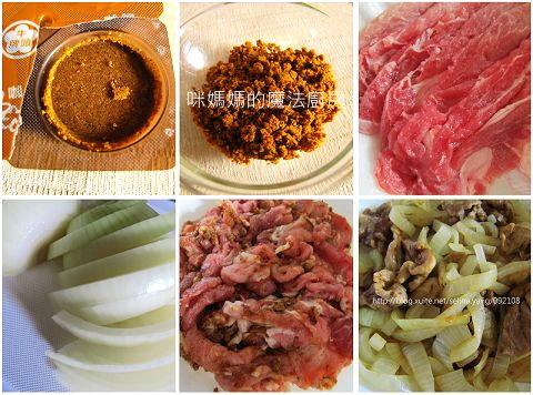 咖哩洋蔥豬肉片-1