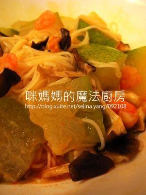 酸辣冬瓜鮮蝦麵