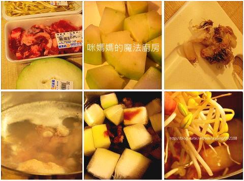冬瓜豆芽燉排骨-1