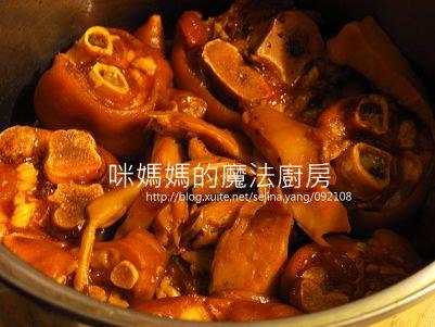 麻辣滷豬腳-橫