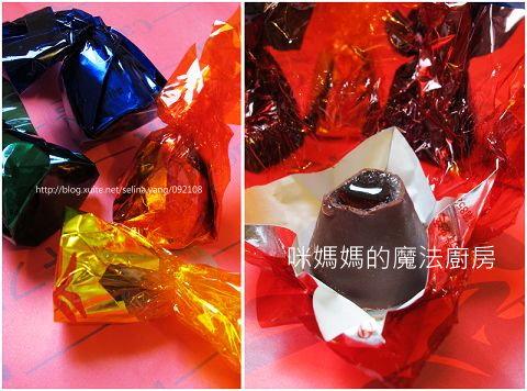 兒時的甜蜜回憶。巧克力酒糖-1