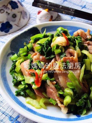 青江雪裡紅炒肉片.jpg
