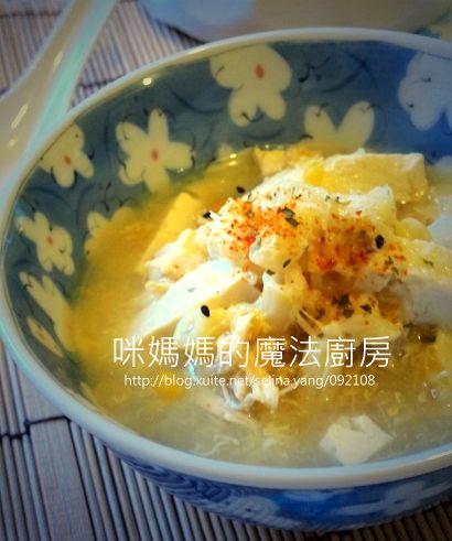 雞蓉豆腐蔬菜玉米湯.jpg