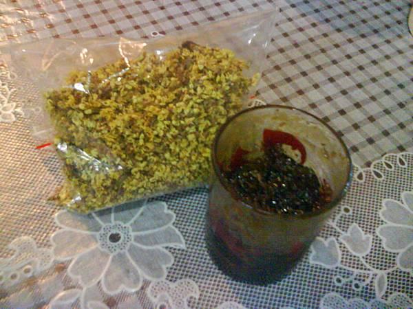 黑糖桂花醬