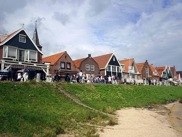 荷蘭 北海漁村