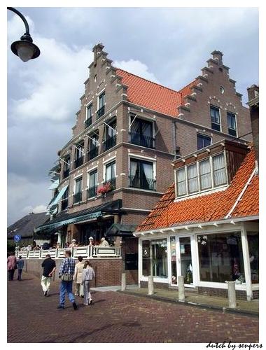 荷蘭 北海漁村 很帥氣的房子