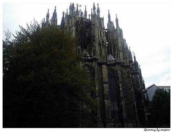 德國 科隆大教堂 很像城堡