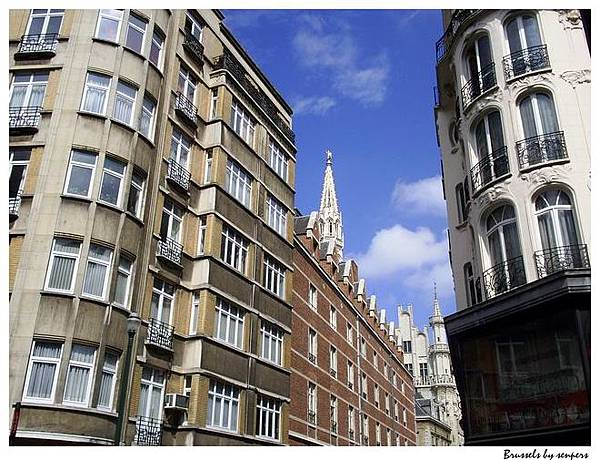 比利時 布魯塞爾 街景