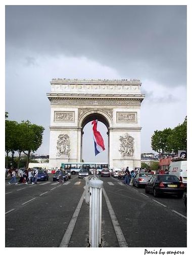 法國 巴黎 凱旋門