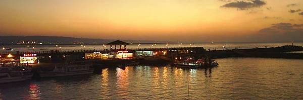 淡水 漁人碼頭 日落