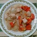 蕃茄雞肉義大利冷麵