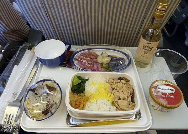 日航飛機餐