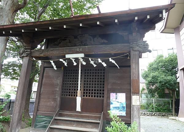 八阪神社本殿