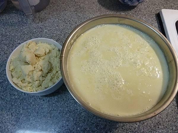 豆漿和豆渣